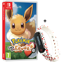 Pokemon Let's Go Eevee! Nintendo Switch Game + GO-TCHA for Pokemon Go