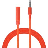 Urbanz INC35P-S1NR Incredi-Cables 3.5mm Corded Audio Extension Cable 1M - Neon Red
