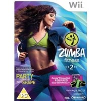 Zumba Fitness 2 with Belt Wii Game (Bagged)