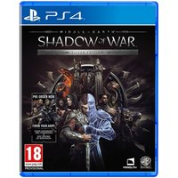Middle Earth Shadow of War Silver Edition PS4 Game