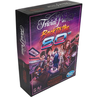 Trivial Pursuit Stranger Things Back To The 80's Board Game - Damaged Packaging