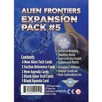 Alien Frontiers Expansion Pack #5 Board Game