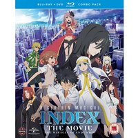 A Certain Magical Index: The Movie - The Miracle of Endymion Blu-ray/DVD Combo
