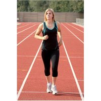 Precision 3/4 Length Capri Tights Black 30-32 inch
