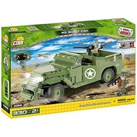 Cobi Small Army World War II M3 Scout Car - 330 Toy Building Bricks