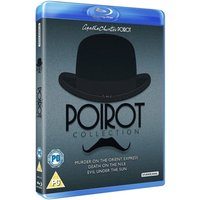 Poirot Murder On The Orient Express & Death On The Nile & Evil Under The Sun Blu-ray