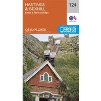 Hastings and Bexhill by Ordnance Survey (Sheet map, folded, 2015)