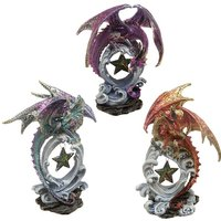 Wish Upon a Star Fantasy Nightmare Dragon Figurine (1 Random Supplied)