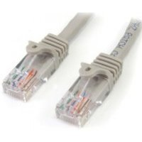 StarTech Cat5e Patch Cable with Snagless RJ45 Connectors 5 m Grey