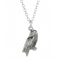 Sterling Silver Hedwig Owl Necklace