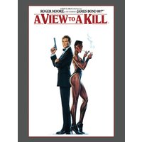 James Bond - A View To A Kill Canvas