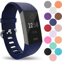 Yousave Activity Tracker Silicone Strap - Large (dark Blue)