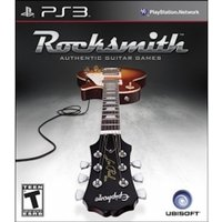 Ex-Display Rocksmith Authentic Guitar Game (with Real Tone Cable)