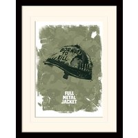 Full Metal Jacket - Helmet Mounted & Framed 30 x 40cm Print