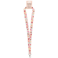 Floral Lanyard Pack Of 12