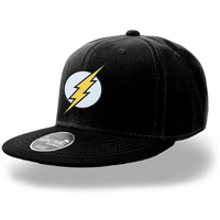 The Flash - Logo Cap - Black (One Size)