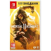 Mortal Kombat 11 Nintendo Switch Game (with Shao Kahn DLC)