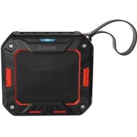 Hama Rockman-S Mobile Bluetooth Speaker, black/red