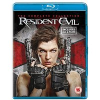 Resident Evil: The Complete Collection Blu-ray