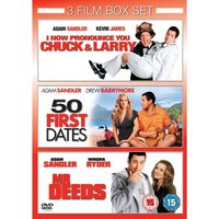 I Now Pronounce You Chuck & Larry & 50 First Dates & Mr Deeds DVD