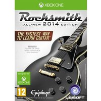 Ex-Display Rocksmith 2014 Xbox One Game (with Real Tone Cable)