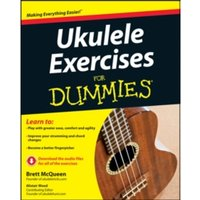 Ukulele Exercises for Dummies by Brett McQueen, Alistair Wood (Paperback, 2013)