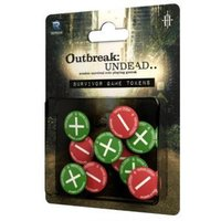 Outbreak Undead 2nd Edition Survivor's Tokens: The Survival Horror Simulation RPG