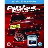Fast & Furious 1-7 Bonus Disc Blu-ray