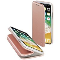 Hama Curve Booklet for Apple iPhone X, rose gold