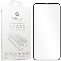 Caseflex iPhone XR Black Edge Glass Screen Protector