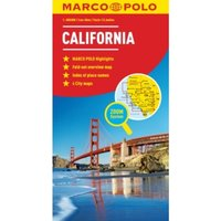 California Marco Polo Map by Marco Polo (Sheet map, folded, 2011)