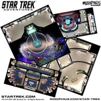 Star Trek Adventures Accessories The Next Generation Starfleet Deck Tiles