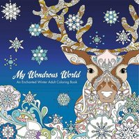 My Wondrous World: Enchanted Winter Adult Coloring Book