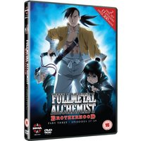 Fullmetal Alchemist Brotherhood Three Episodes 27-39 DVD