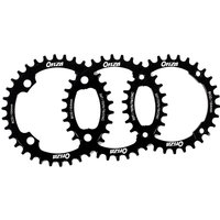 Onza Buzz Saw Narrow/Wide Chainring Alloy 7075 CNC 4 Bolt 34 Teeth Black