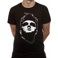 Morrissey - Head Men's Medium T-Shirt - Black