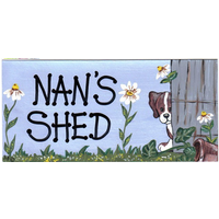 Nan's Shed Pack Of 12