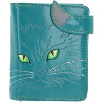 Turquoise Lucky Cat Small Purse