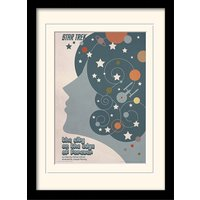 Star Trek - The City On The Edge Of Forever Mounted & Framed 30 x 40cm Print