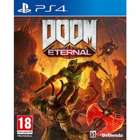 Doom Eternal PS4 Game (Inc Rip and Tear DLC Pack)