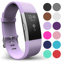 'Yousave Fitbit Charge 2 Strap Single (large) - Lilac