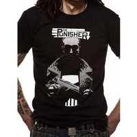Punisher - Pocket Men's Small T-Shirt - Black