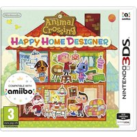 Animal Crossing Happy Home Designer 3DS Game