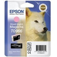 Epson C13T09664010 (T0966) Ink cartridge bright magenta, 865 pages, 11ml