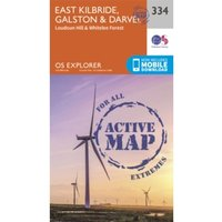 East Kilbride, Galston and Darvel by Ordnance Survey (Sheet map, folded, 2015)