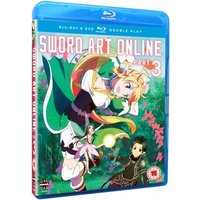 Sword Art Online Part 3 Episodes 15-19 Blu-ray