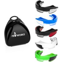 Proworks Mouth Guard - Black/Clear