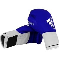 Adidas 100 Hybrid Boxing Gloves Blue - 12oz