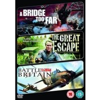 Bridge Too Far / The Great Escape / Battle Of Britain DVD