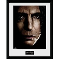 Harry Potter Snape Face Framed Collector Print